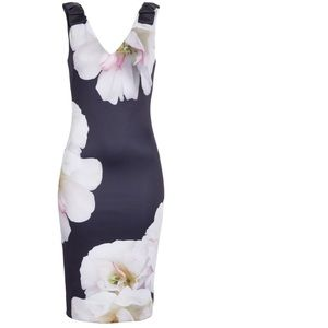 Ted Baker London Dresses - Ted Baker London 'Gardenia' Bow Shoulder Dress